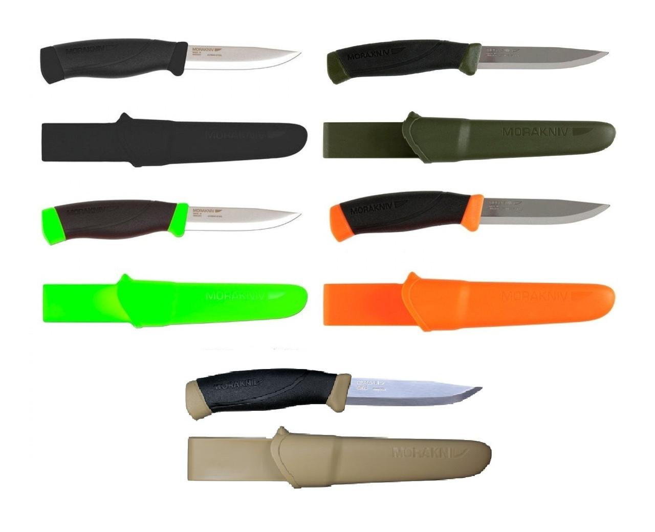 Нож туристический Morakniv Companion (нержавеющая. сталь).