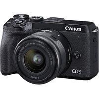 Фотоаппарат Canon EOS M6 Mark II kit EF-M 18-150mm + видоискатель EVF-DC2