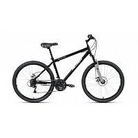 "Велосипед ALTAIR MTB HT 26 2.0 disc (26"" 21 ск. рост 19"") 2020-2021, черный/серый, RBKT1MN6P005"