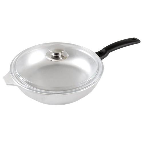 Сковорода 260/60мм со съемной ручкой и стекл. крышкой, литой алюминий