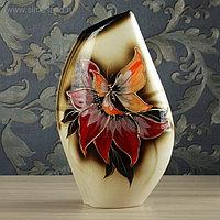 """Ваза напольная """"Каприз"""", разноцветная, керамика, 44 см"""