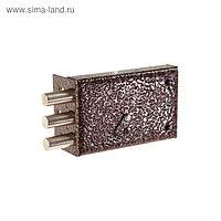 "Замок накладной ""Сенат"" ЗНС-5 Соболь 131, 130х80х24 мм, 3 ключа"