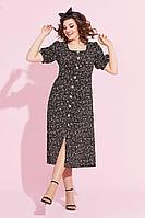 Женское летнее черное платье Милора-стиль 891 48р.