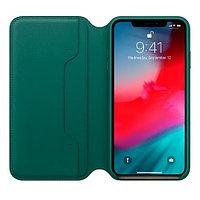 Apple чехол для iPhone XS Max - Forest Green аксессуары для смартфона (MRX42ZM/A)