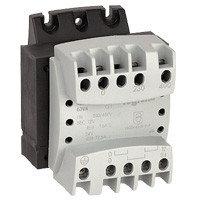 Однофазный трансформатор обеспечения безопасности - первичная обмотка 230/400 В / вторичная обмотка 12/24 В -