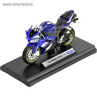 Коллекционная модель мотоцикла Yamaha YZF-R1, масштаб 1:18