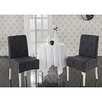 Чехлы на стулья Milano, 2 шт., цвет антрацит