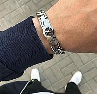 Мужской титановый браслет