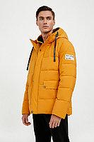 Куртка мужская Finn Flare, цвет желтая охра, размер 2XL