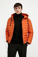 Куртка мужская Finn Flare, цвет терракотовый, размер 2XL