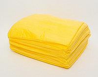 Простыни одноразовые стандарт, 200м*80см, желтый, CMC 17 гр/м2, Чистовье, упаковка 20 шт.