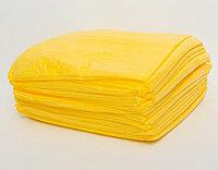 Простыни одноразовые люкс, 200м*80см, желтый, CMC 30 гр/м2, Чистовье, упаковка 20 шт.