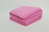 Простыни одноразовые люкс, 200м*80см, розовый, CMC 30 гр/м2, Чистовье, упаковка 20 шт.