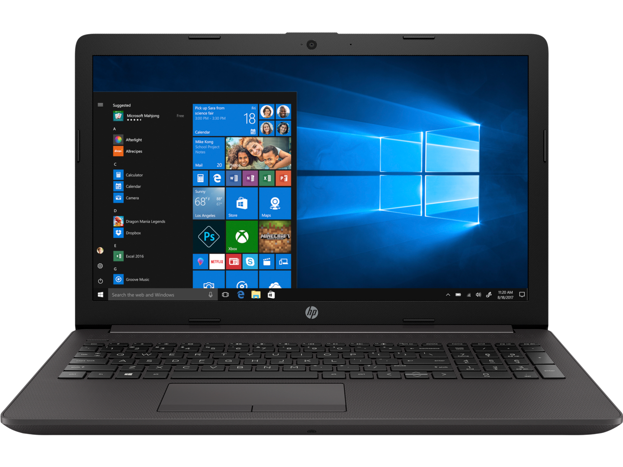 НОУТБУК HP 250 G7 (2M2Y9ES), 15.6 HD, PENTIUM N5030 (4 ЯДРА, 1,10 GHz), RAM 8GB, SSD 256GB, NO OS