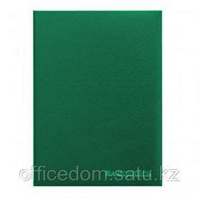 """Папка """"На подпись"""" А4, бумвинил, без подушки, зеленый"""