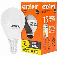 Светодиодная лампа СТАРТ LED Sphere GLS E14 7W 30