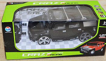 512-14 Хамер Crazy racing на р/у 4 функции, 27*12см
