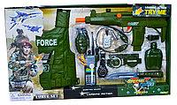 33490 Военный набор Force Set с жилетом 11 предметов 66*38, фото 1