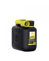 Канистра OKTAN Dizel 5л для дизельного топлива и технических жидкостей ОПТОМ