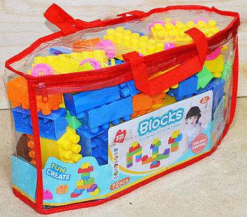 990-119 Конструктор Blocks в сумочке 72 дет 35*18