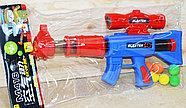 898 Пинг понг M416 пистолет с шариками в пакете 47*25, фото 2