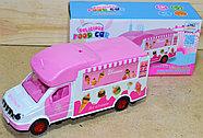 GC169-126 Грузовик с мороженным Pelicious Foodcar на батарейках с музыкой 24*12, фото 2