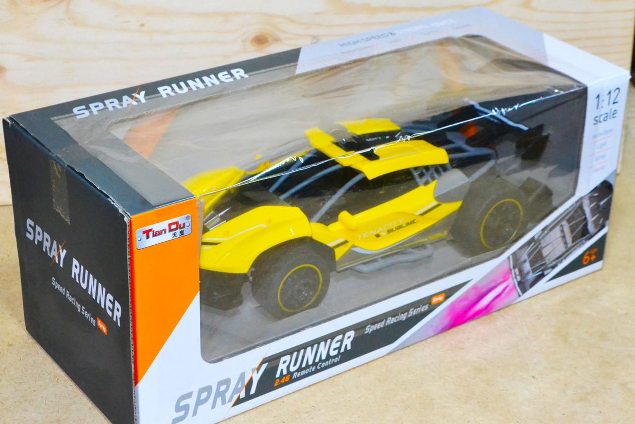 6912-5 Машина Spray Runner на р/у выпускает пар 43*17