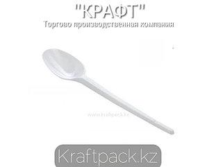 Ложка 125 мм, чайная, белая (200уп/4000кор)