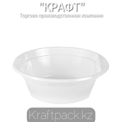 Миска, талерка суповая РР 500мл Экстра одноразовая 1000 шт/кор