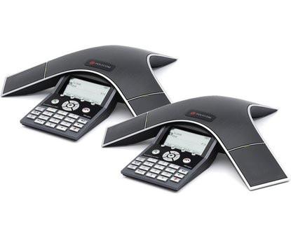 Аудиоконференция Polycom SoundStation IP 7000 multi-unit connectivity kit - в комплекте 2 IP 7000