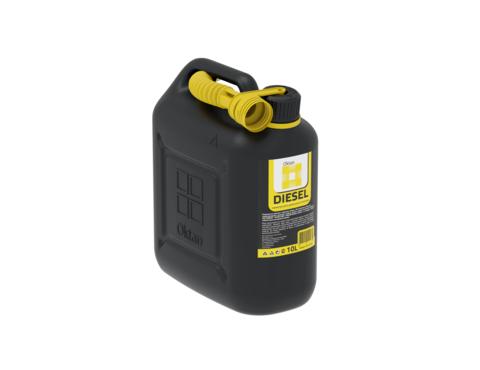 Канистра OKTAN Dizel 10 л для дизельного топлива и технических жидкостей  ОПТОМ