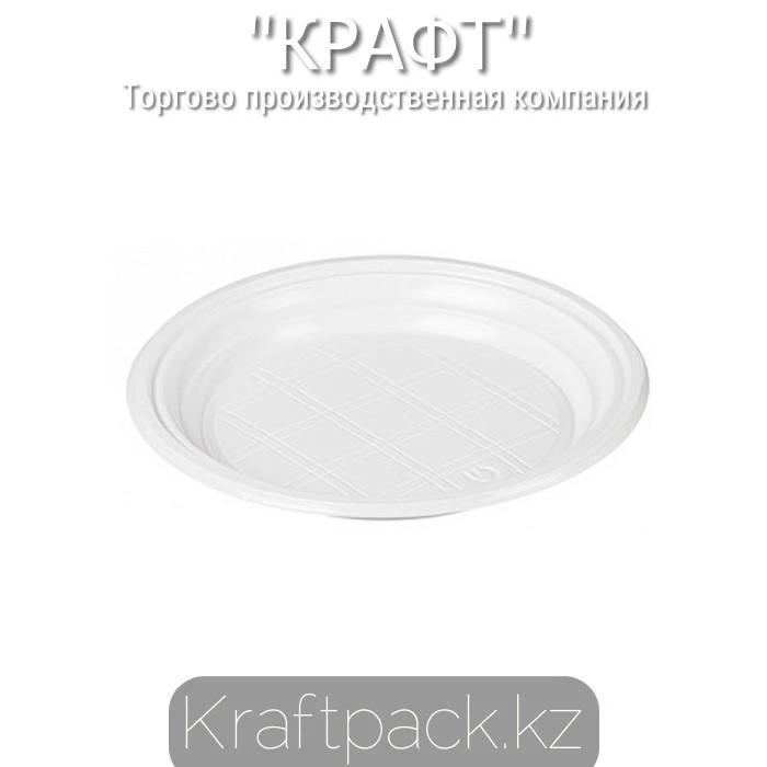 Тарелка 170 мм одноразовая Pozitron (2800шт/уп)