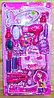 869-2 Фен набор Barneys Dream для девочек 17 предметов на кратонке 53*28