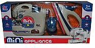 6714B Бытовая техника Mini oppliance 2 в 1 швейная мешина, утюг  на батарейках 42*20, фото 2