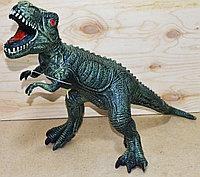 7021 Динозавр резиновый со звуком качественный 43*40, фото 1