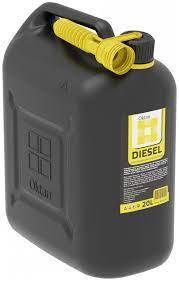 Канистра OKTAN Dizel 20 л для дизельного топлива и технических жидкостей  ОПТОМ