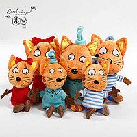 """Плюшевые игрушки """"Три кота"""""""