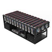Майнинг-ферма на 12 видеокартах NVIDIA GeForce GTX 1660 SUPER