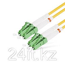 Патч Корд Оптоволоконный LC/APC-LC/APC SM 9/125 Duplex 3.0мм 1 м