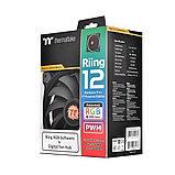 Кулер для компьютерного корпуса Thermaltake Riing Plus 12 RGB TT Premium Edition (3-Fan Pack), фото 3