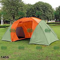 Двухкомнатная палатка с тамбуром Tuohai-1456 450х220х200 см. Доставка.