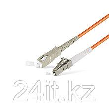 Патч Корд Оптоволоконный LC/UPC-SC/UPC MM OM1 62.5/125 Simplex 3.0мм 1 м