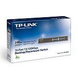 Коммутатор TP-Link TL-SF1016DS, фото 3