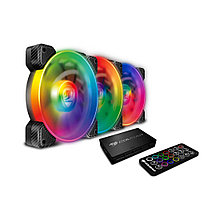 Комплект кулеров для компьютерного корпуса Cougar VORTEX SPB RGB COOLING KIT - 3 в1
