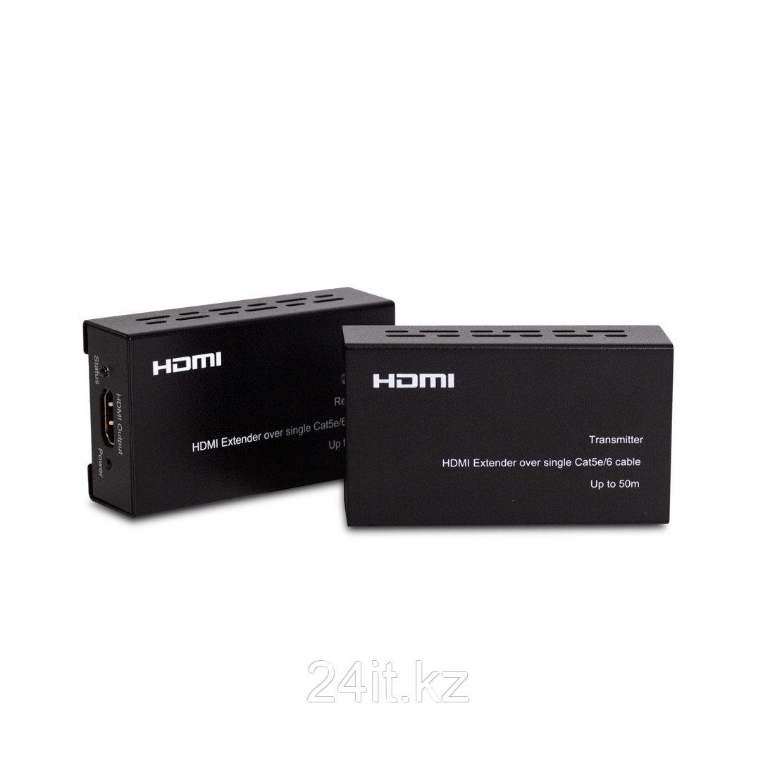 Комплект для передачи HDMI по сети Extender Deluxe HDEX-50m