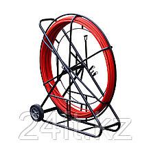 Устройство для затяжки (протяжки) кабеля на тележке