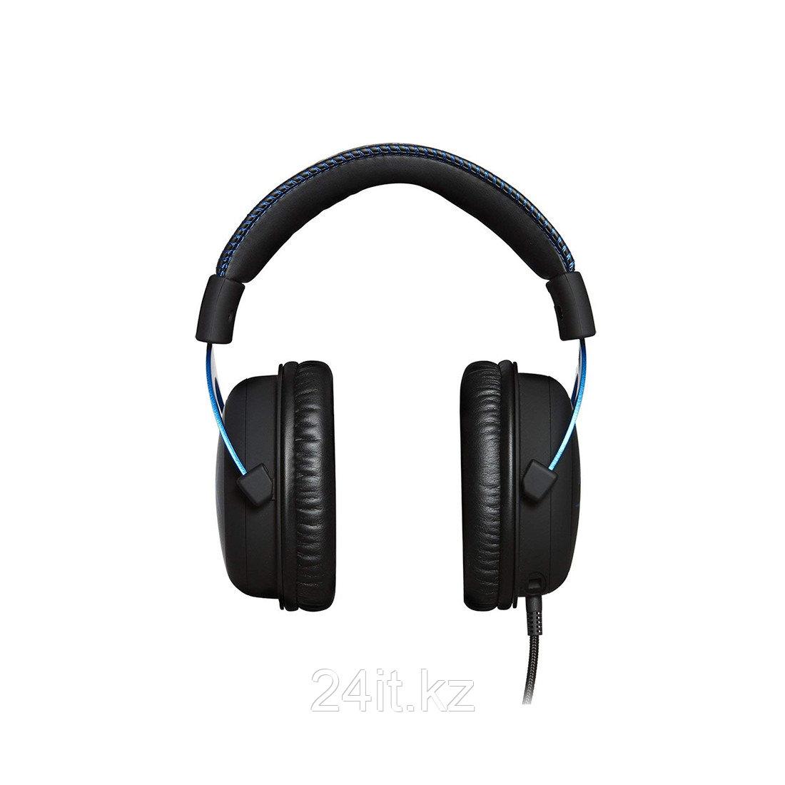 Гарнитура HyperX Cloud Gaming Headset - Blue for PS4 HX-HSCLS-BL/EM - фото 1