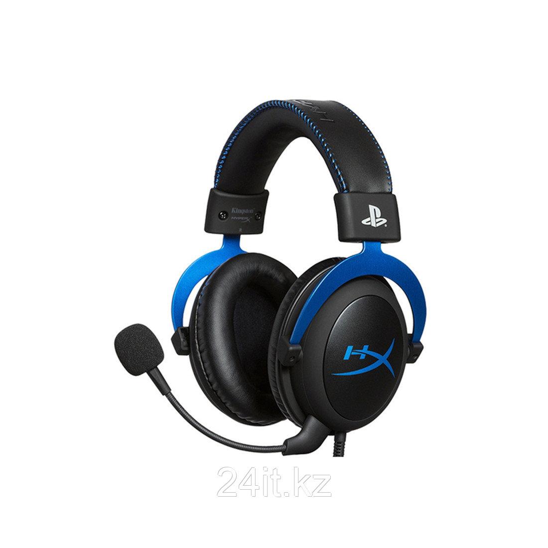 Гарнитура HyperX Cloud Gaming Headset - Blue for PS4 HX-HSCLS-BL/EM - фото 2