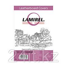 Обложки Lamirel Delta A4 LA-78771, картонные, с тиснением под кожу , цвет: кремовый, 230г/м², 100шт