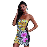 Платье NEUTRAL FLOWERS